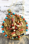 Prajwol /NepaCrafts Necklaces Thai Vermeil Compassionate Chenrezig Necklace