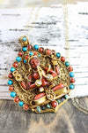 Necklaces Thai Vermeil Compassionate Chenrezig Necklace UN025