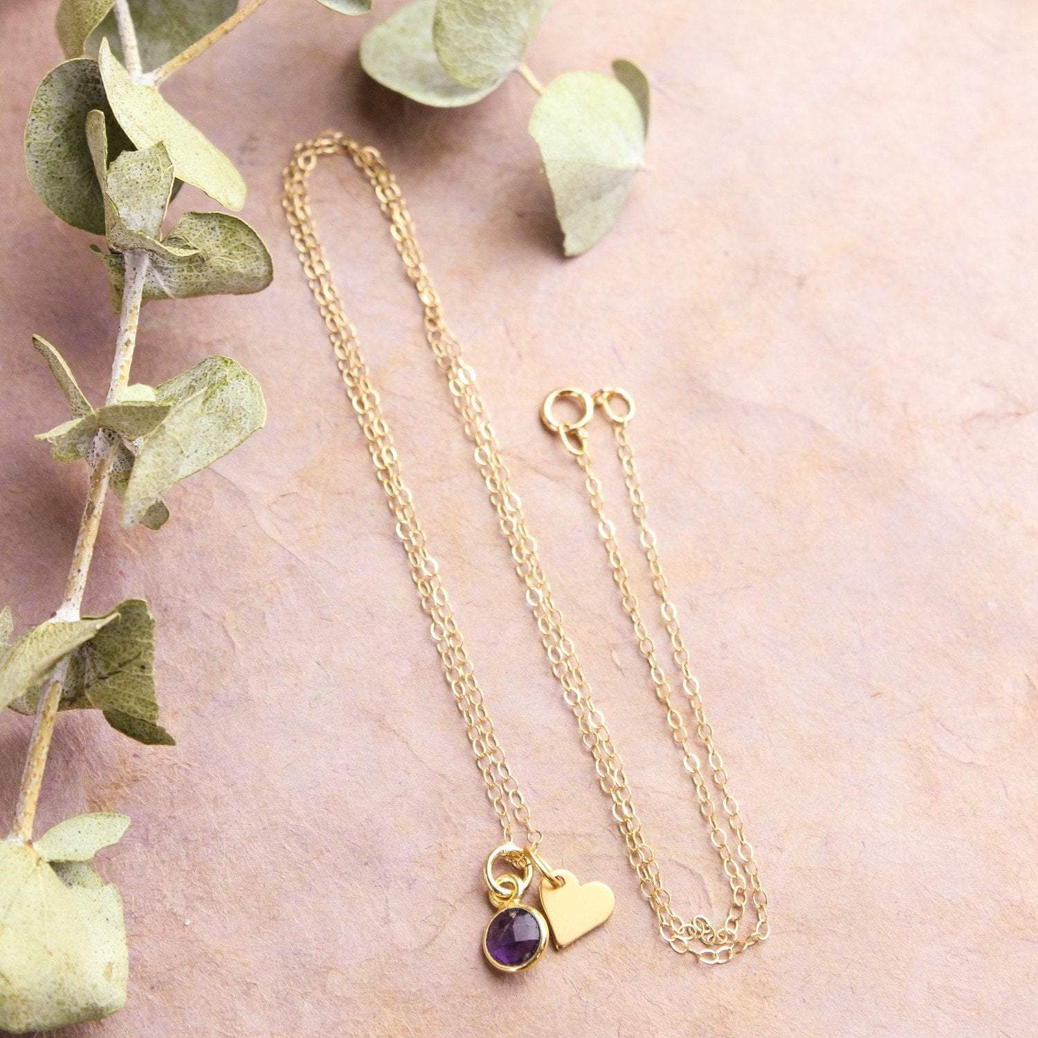 Necklaces Tiny Love and Tenderness Necklace JN717