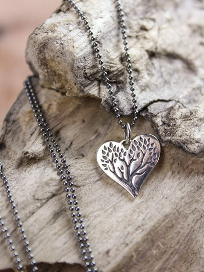 Necklaces Tree of Life Heart Necklace JN702