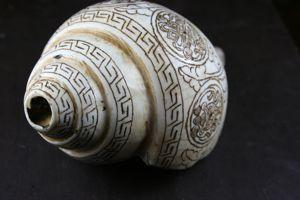 One of a Kind,Tibetan Style Default One of a Kind Conch Shell un016
