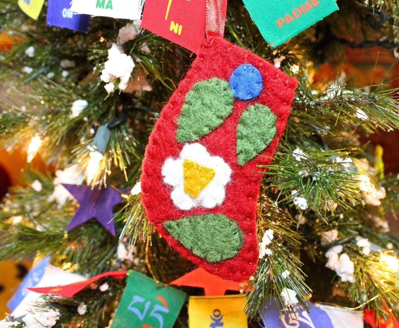 Ornaments Default Fair Trade Red Stocking Ornament ho021