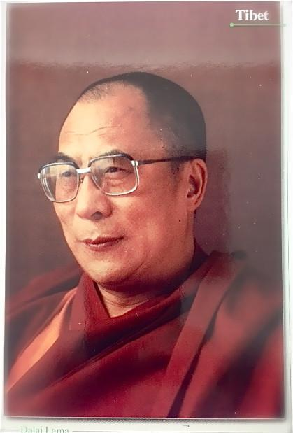 Paper Goods Default HH Dalai Lama Postcard ft011
