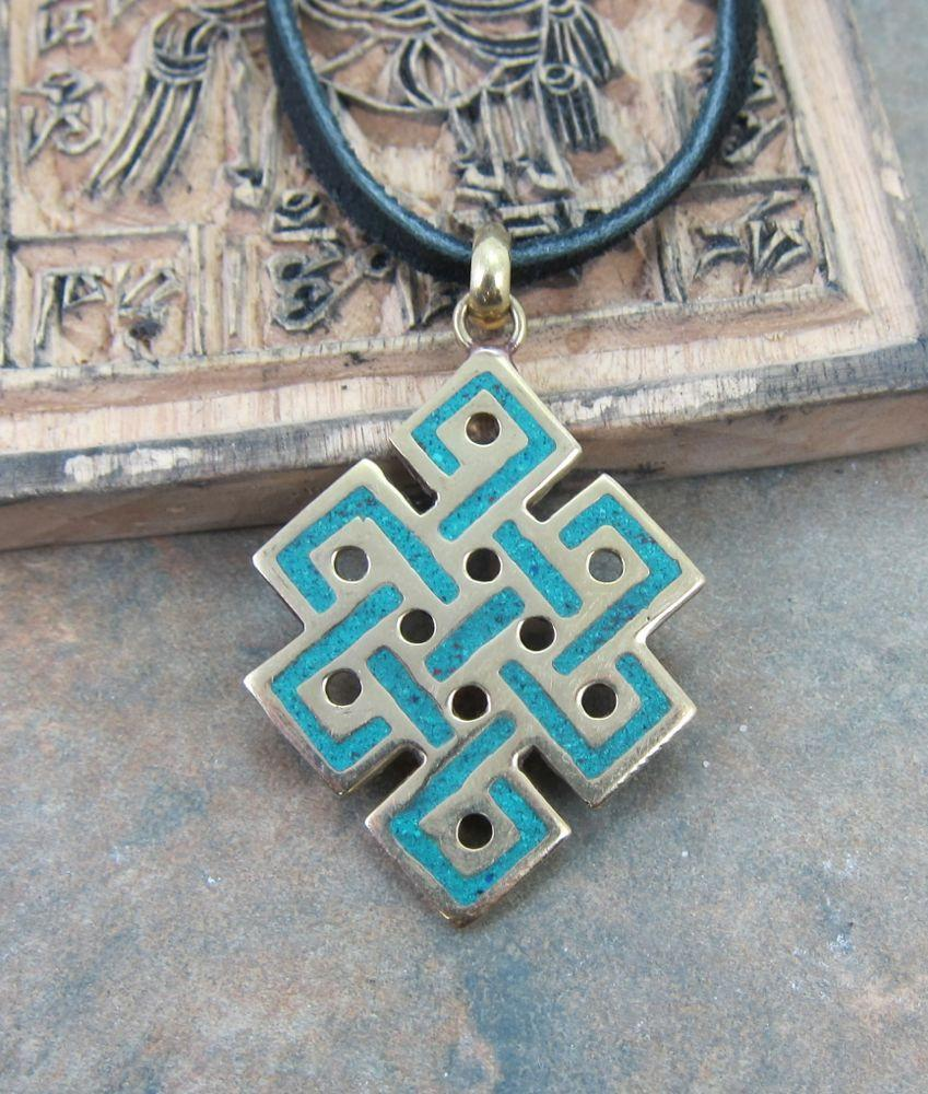 Pendants Default Brass Eternal Knot Pendant jp095e