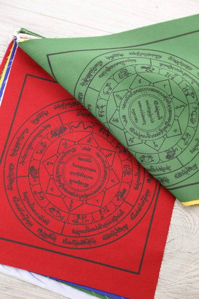 Prayer Flags Chakra & Astrology Prayer Flags PF151