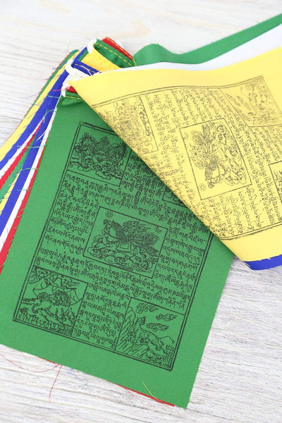 Prayer Flags Default 6 inch Wind Horse Prayer Flags pf018