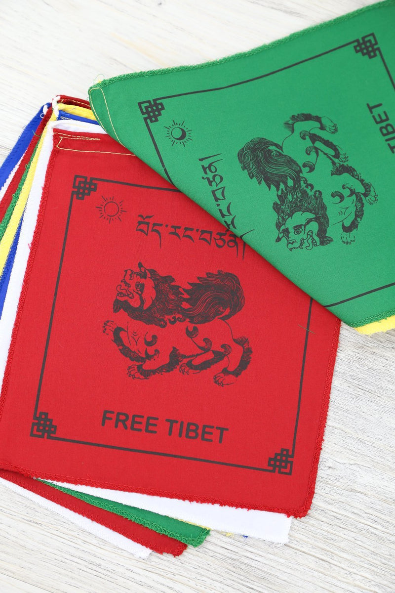 Prayer Flags Default FREE TIBET Prayer Flags pf051