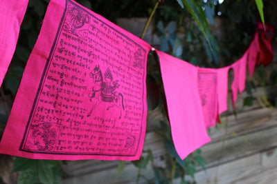 Prayer Flags Default Pink Prayer Flags For Cancer Charity pf062
