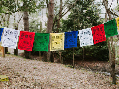 Prayer Flags Default Special Windhorse Prayer flags pf009