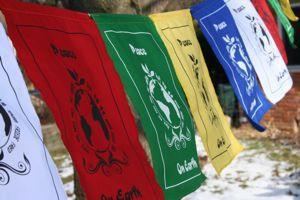 Prayer Flags Default World Peace Flags pf043