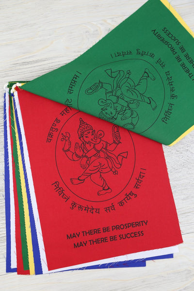 Prayer Flags Ganesh Prosperity Prayer Flags PF146