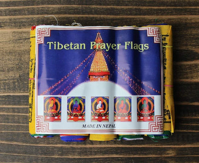 Prayer Flags,Gifts,Buddha,Under 35 Dollars,Tibetan Style,Deities Default Mini 5-pack Prayer Flags pf013