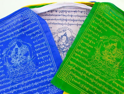 Prayer Flags,New Items Default Manjushri Tibetan Prayer Flags Set of 10 pf068