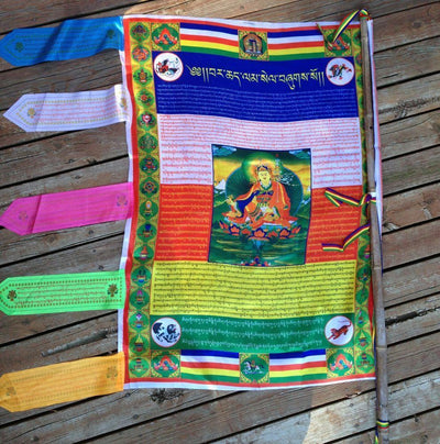 Prayer Flags,New Items Default Vajra Guru Wish Fulfilling Flags pf070