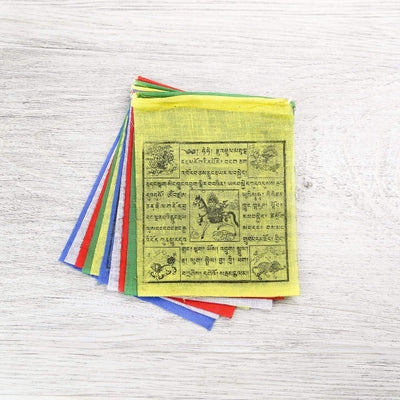 Prayer Flags Small Windhorse Prayer Flag Set PF152