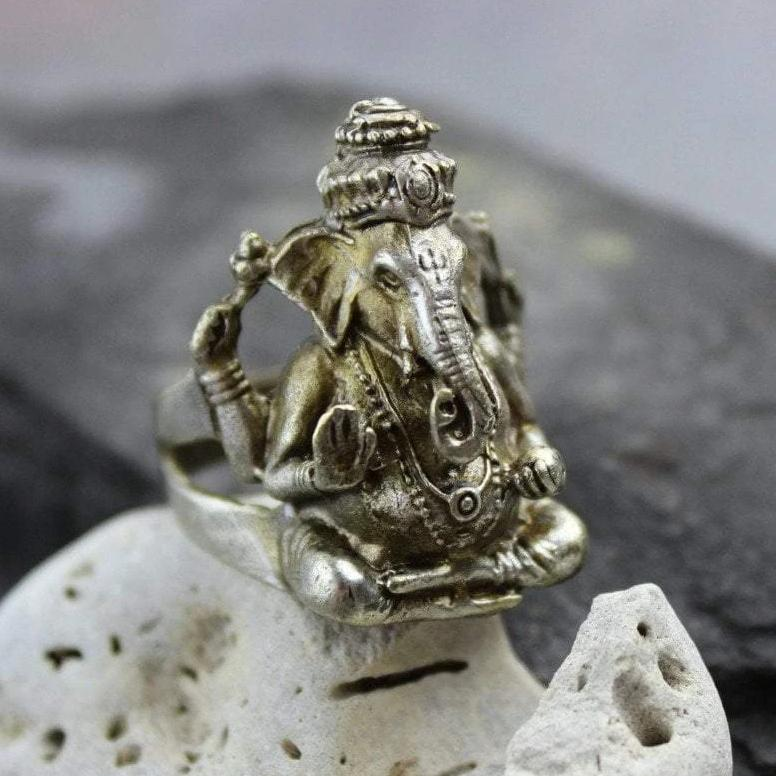 Rings 10 Ganesh Ring jr124010
