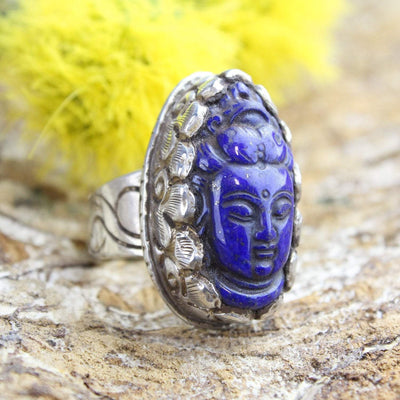 Rings Guanyin Compassion Ring JR234