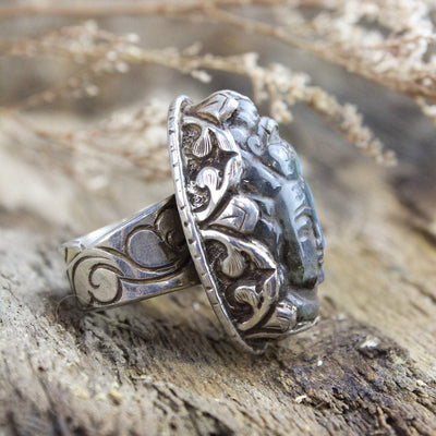 Rings Guanyin Creative Energy Ring JR236