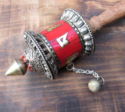 Ritual Items Default Coral Prayer Wheel rp016