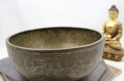 Singing Bowls Default 9 inch singing bowl C5 509hz NewBowl36