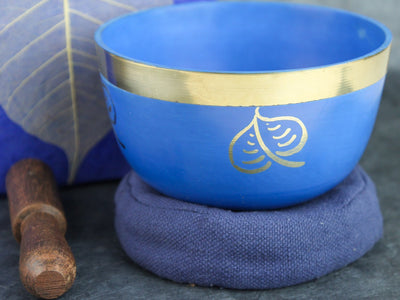 Singing Bowls Default Blue Bodhi Singing Bowl Set gb015