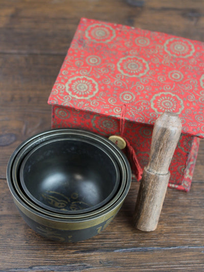 Singing Bowls Default Gift Set of 3 Singing Bowls gb003