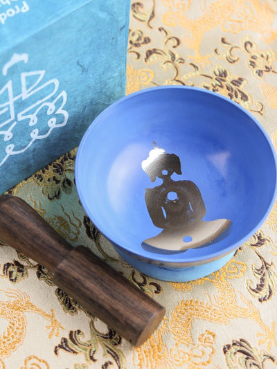 Singing Bowls,Gifts,Meditation,Tibetan Style,Holidays Default Yogi Singing Bowl Box gb004