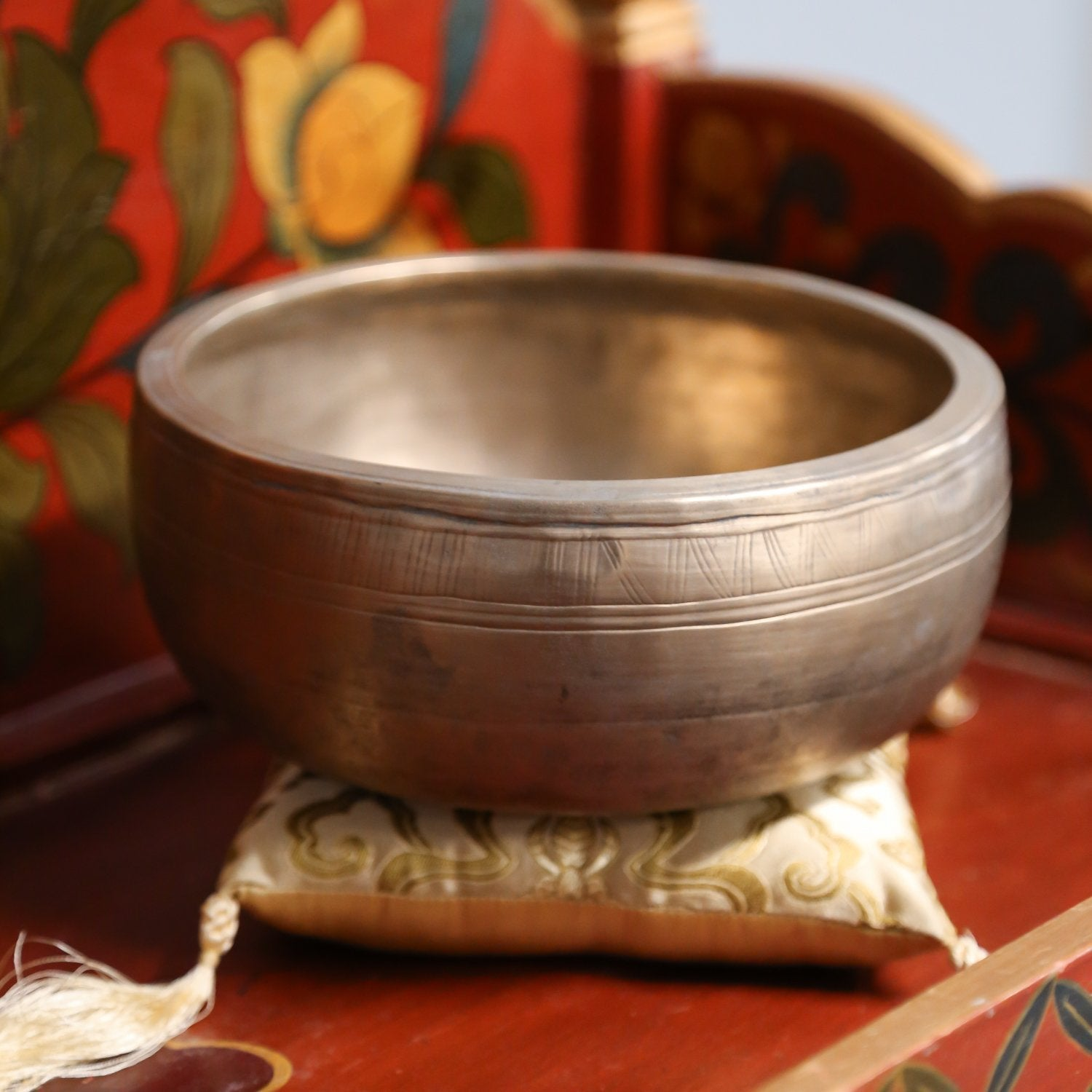Singing Bowls Intuition and Insight Singing Bowl oldbowl311