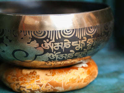 Singing Bowls Tibetan Mantra Singing Bowl SB171