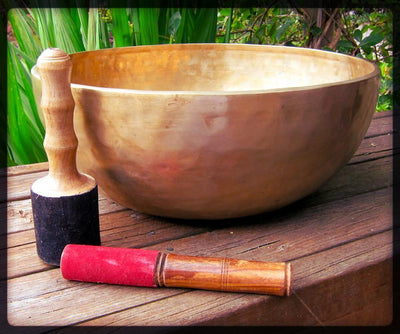 Singing Bowls,Tibetan Style,Valentines Day Gift Guide Default HUGE 15 Inch Heart Chakra Singing Bowl newbowl5