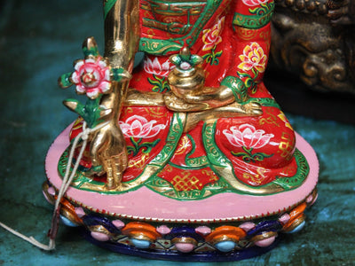 Statues Beautiful Hand Painted Medicine Buddha Statue ST147B