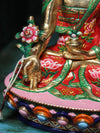 Beautiful Hand Painted Medicine Buddha Statue