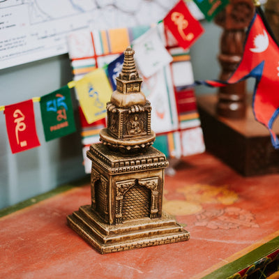 Statues Default Amazing Table Top Altar Stupa rs005