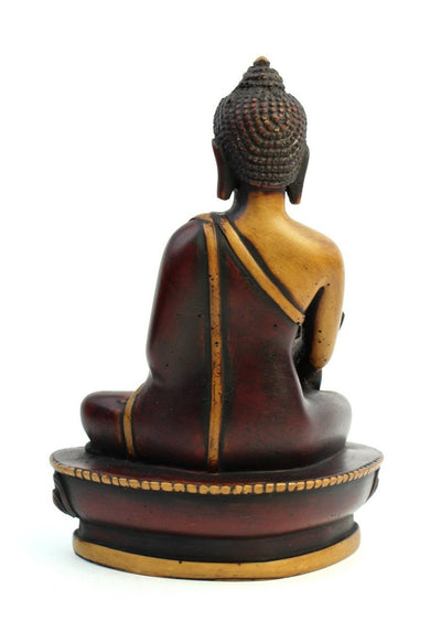 Statues Default Hand Painted Medicine Buddha Statue st047