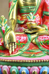 Statues Hand Painted 7 Inch Medicine Buddha Statue ST147