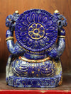 Statues High Quality Lapis Ganesh Statue ST193