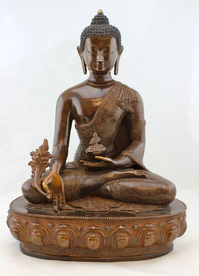 Statues,One of a Kind,Buddha,Tibetan Style Default Masterpiece  Medicine Buddha Statue st002b