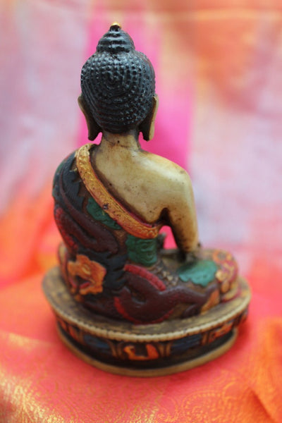 Statues,Under 35 Dollars Default Painted Shakyamuni Statue st025