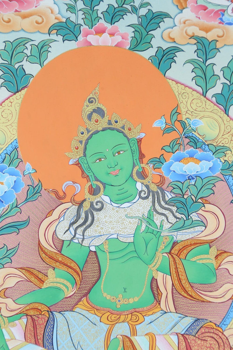 Thangkas 21 Tara Tibetan Thangka TH137