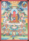 Thangkas Amitabha Buddha Thangka TH136