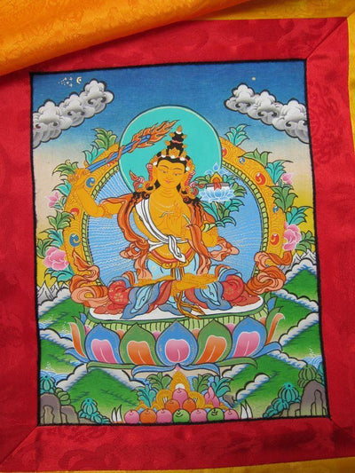 Thangkas Default Manjushri Thangka th030