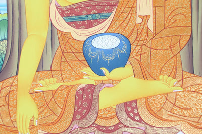 Thangkas Enlightened Shakyamuni Buddha Thangka TH131