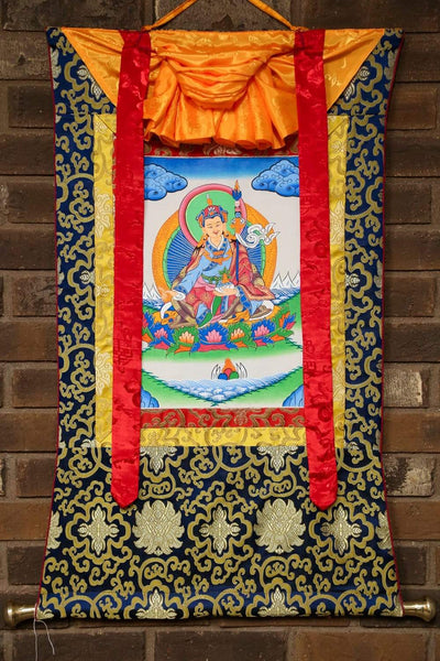 Thangkas Guru Rinpoche Framed Thangka TH159