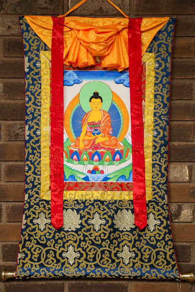 Thangkas Shakyamuni Enlightenment Framed Thangka TH156