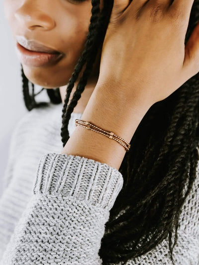 The Journey Bracelets Brass Simplicity Bracelet DW03
