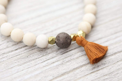The Journey Bracelets Jasper and Druzy Tassel Bracelet SW04