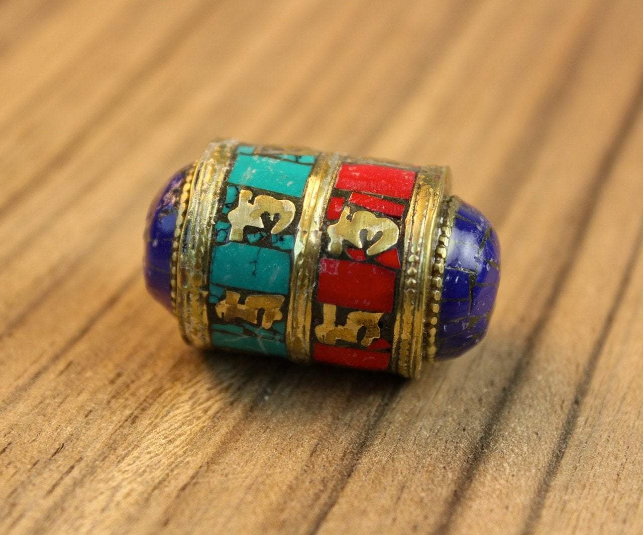 Tibetan Beads Default Large Mantra Bead be088