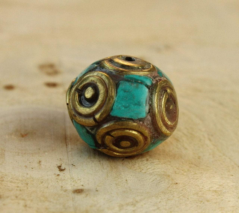 Tibetan Beads Default Round Bher Bead be106