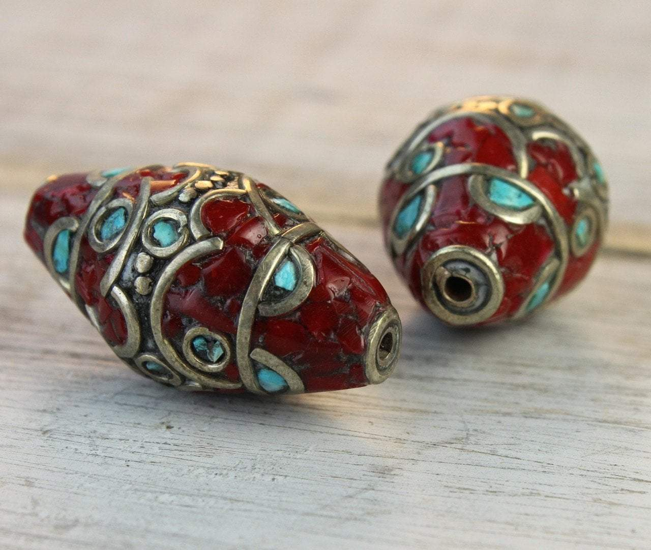 Tibetan Beads Default Tibetan Chuba Bead be099