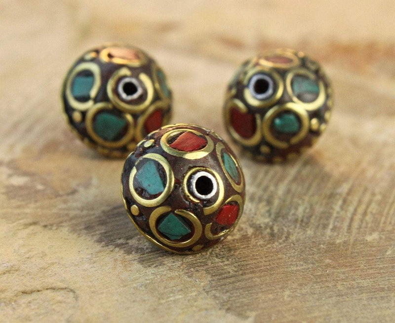 Tibetan Beads Default Vajardanti Bead be101